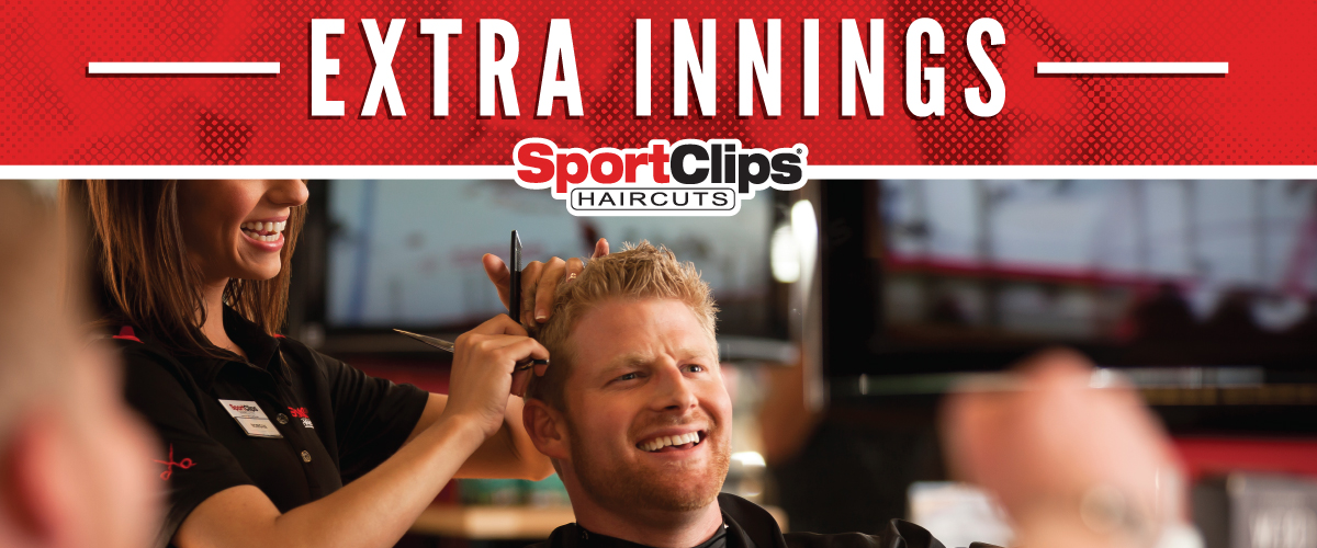 The Sport Clips Haircuts of South Myrtle Beach Extra Innings Offerings